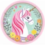 Beverage Plates- Magical Unicorn