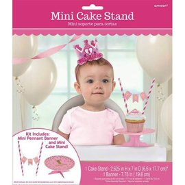 Kit - Cake Stand 1st Bday Pink