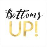 """Napkins BEV - """"Bottoms Up"""""""