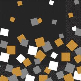 Luncheon Napkins-Sparkling Confetti