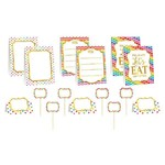 Buffet Decorating Kit - Rainbow