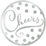 Silver Coasters- Cheers- 18pk