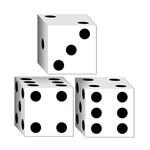 Favor Boxes - Dice - 3 Pieces