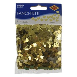 Confetti - Hearts - Color (Gold)