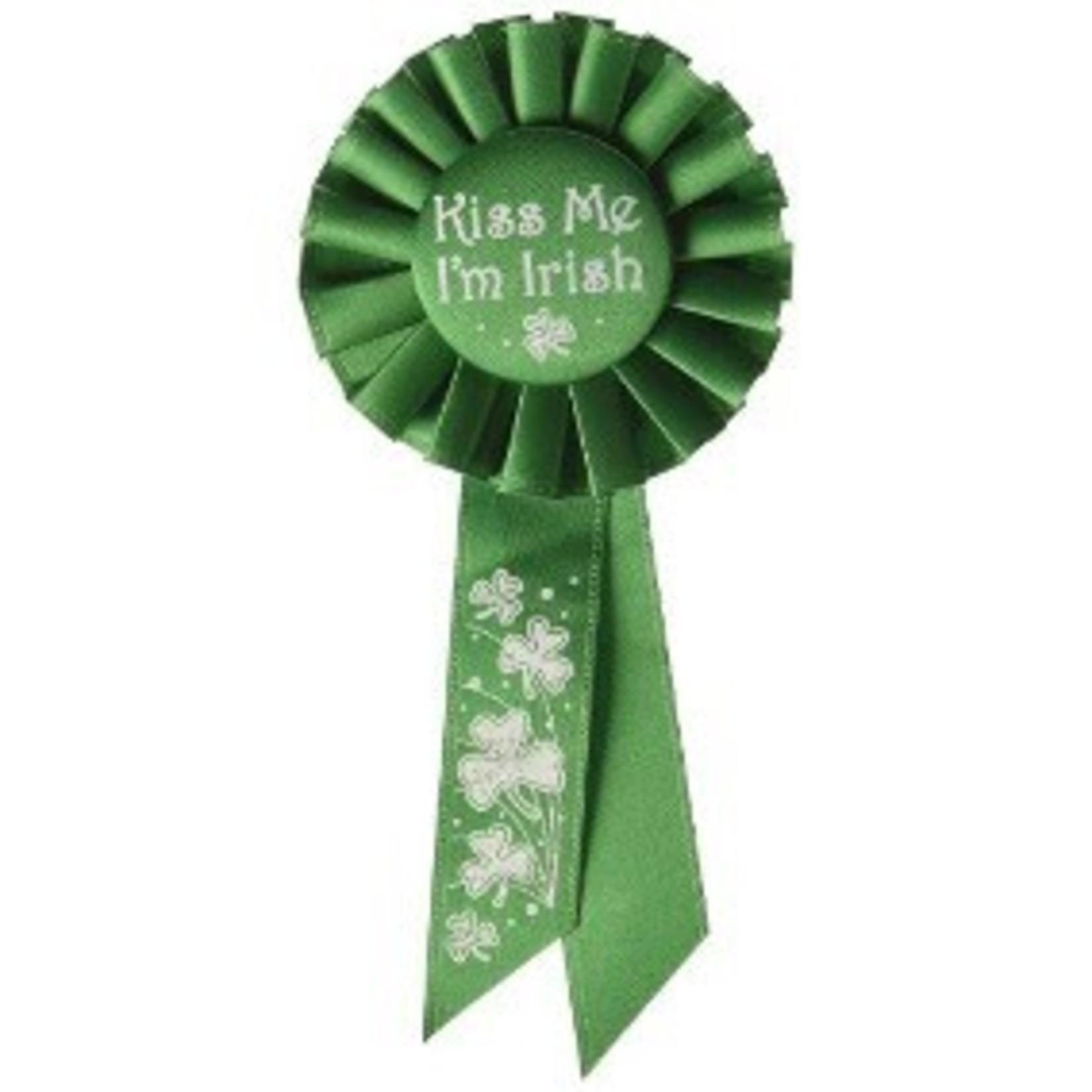 Award Ribbon - Kiss me I'm Irish