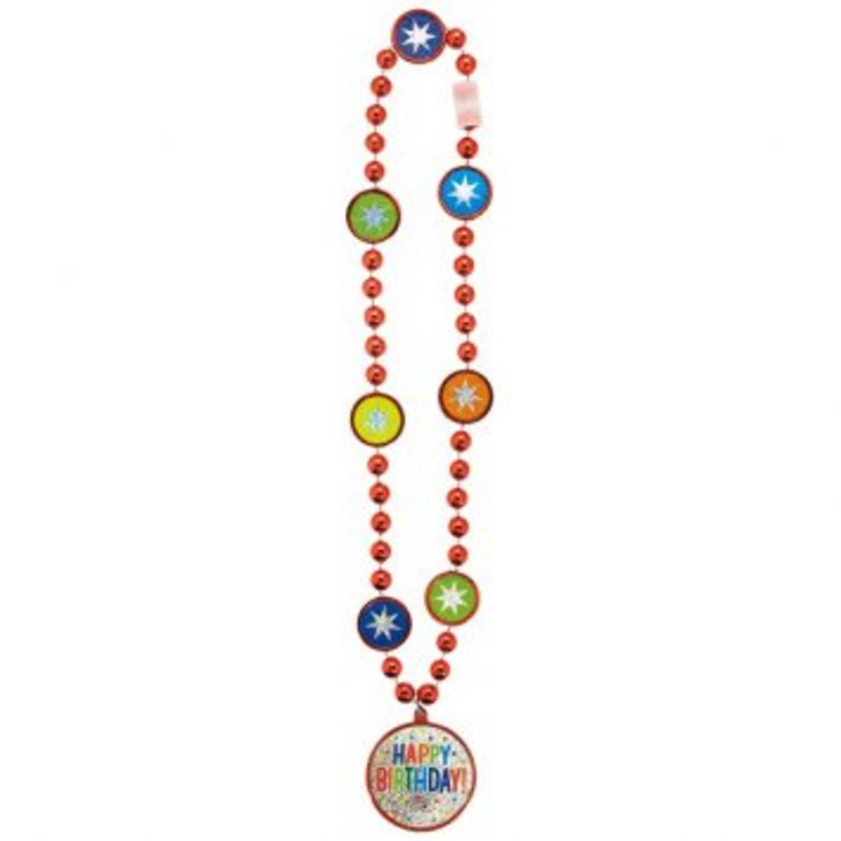 Balloon Bash Bead Necklace