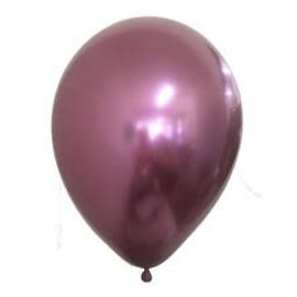Latex Balloons - Chrome Mauve - 11""