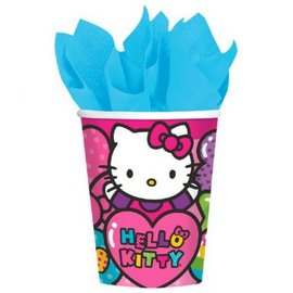Cups-Hello Kitty-Paper-9oz-8pk- Discontinued