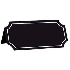 Chalkboard Paper Tent Card