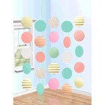 String Decoration - Circle Pastel (5PK)