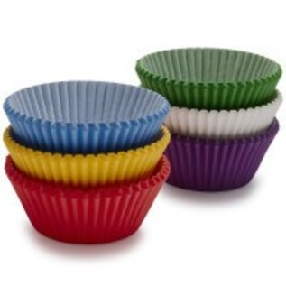 Baking Cups - Primary Rainbow (75PCS)