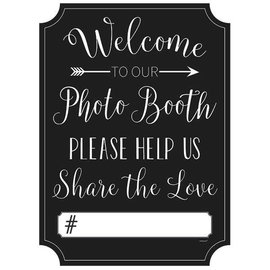 Photo Booth Sign - Wedding