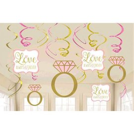 Swirl Decoration Value - Sparkling Wedding