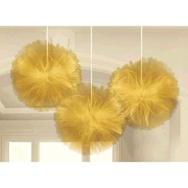 Decorative Fluffy Deluxe Tulle - Gold