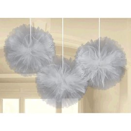 Decorative Fluffy deluxe Tulle - silver