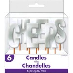 Candle Picks - CHEERS - Silver