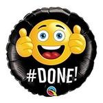 Foil Balloon - # Done