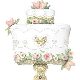 Foil Balloon - Wedding Cake