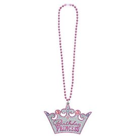 Necklace Bling Birthday Princess