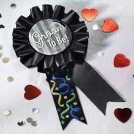 Award Ribbon - Groom To Be - 5.5""