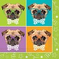 Napkins LN - Pug Puppy Birthday