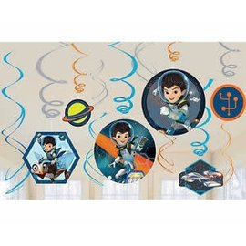 Hanging Swirl Decorations- Miles from Tomorrowland