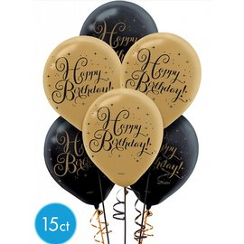 "Latex  Balloons - Sparkling Celebration - 12"" - 15pkg"
