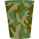 Cups- Camouflage- Plastic-16oz
