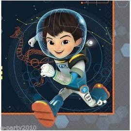 Lunch Napkins- Miles from Tomorrowland- 16pk/2ply
