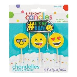 Candles- # IT'S MY B-DAY!- 4Pcs