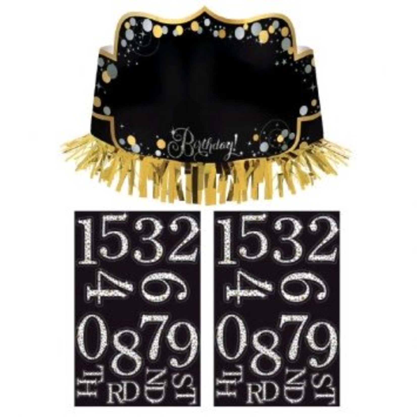 Add-Any-Age- Crown with Fringe