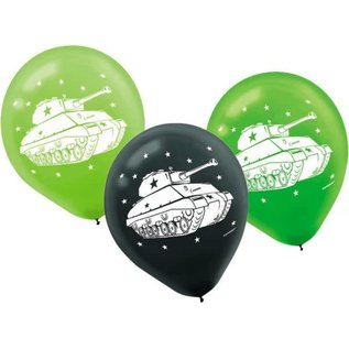 """Balloons- Latex- Camouflage- 12"""""""