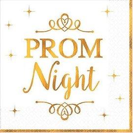 Napkins Bev Prom Night