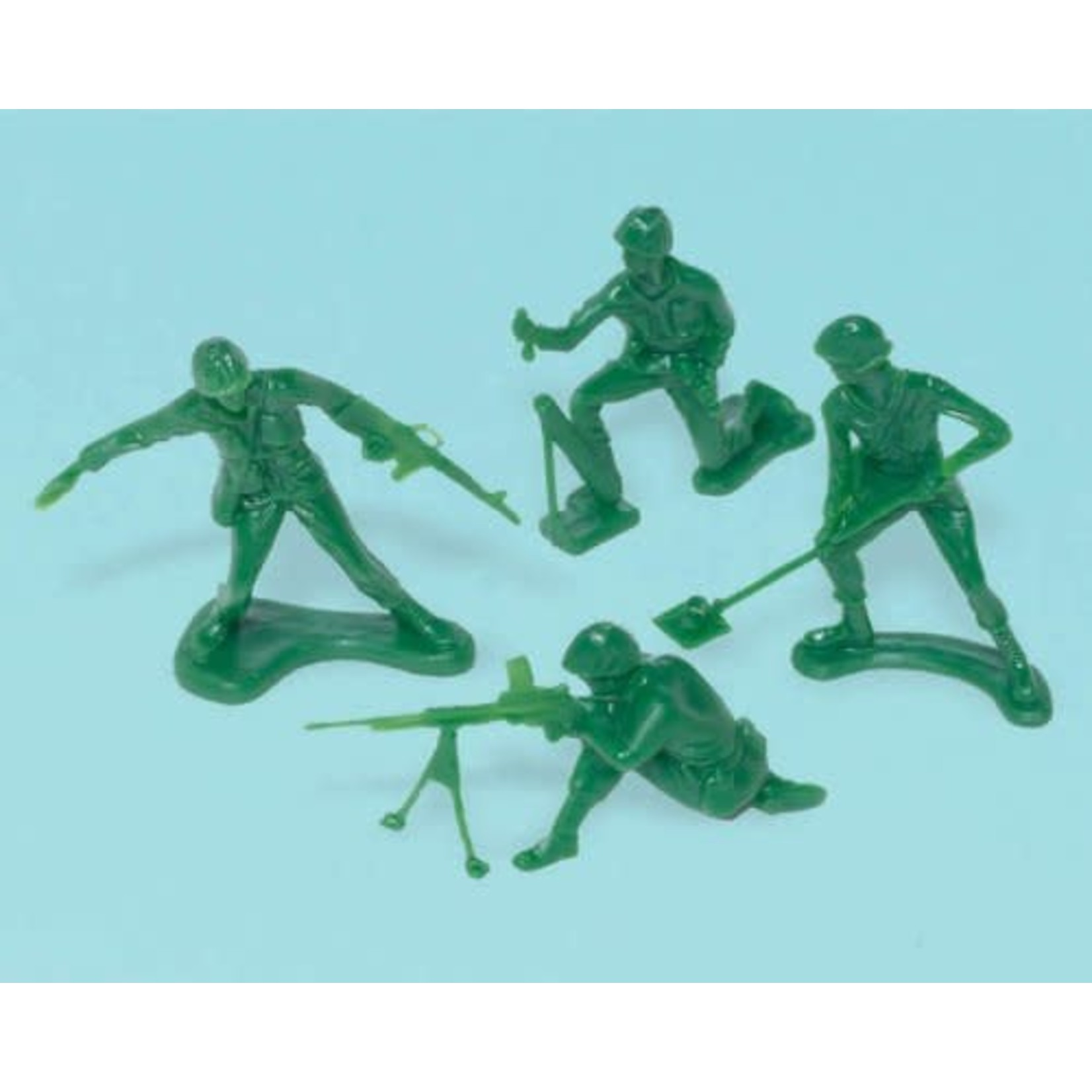 Army Soldiers- Camouflage-24pcs