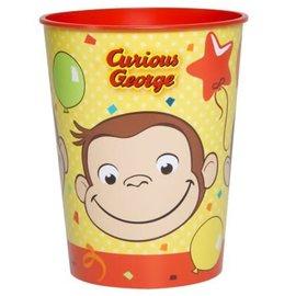 Cups-Curious George-Plastic-16oz- Final sale