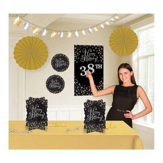 Add-Any-Age- Room Decorating Kit- 8pcs
