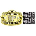 Add-Any-Age- Birthday Tiara
