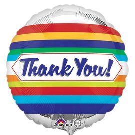 Foil Balloon- Thank You!- 18""