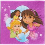 Luncheon Napkins-Dora & Friends-16pk-2ply-Discontinued