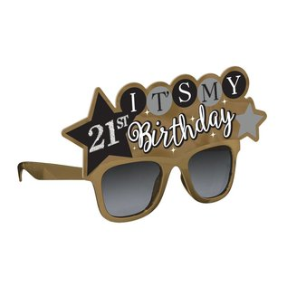 Add-Any-Age- It's My Birthday- Fun Glasses