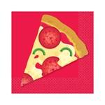 Beverage Napkins- Pizza Party- 16pk/2ply