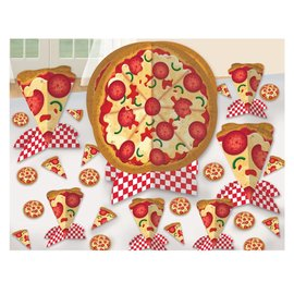 Table Decorating Kit- Pizza Party- 7pcs