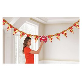 Jumbo Letter Banner Kit- Pizza Party
