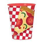 Cups- Plastic- Pizza Party- 16oz