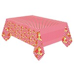 """Tablecover- Pizza Party- 54"""" x 96"""""""