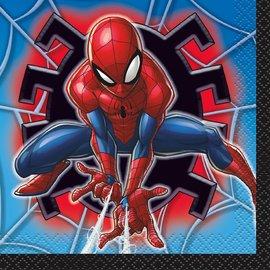 Beverage Napkins- Spiderman- 16pk/2ply