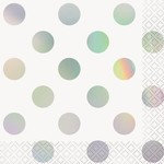 Beverage Napkins- Iridescent Dots
