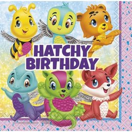 Beverage Napkins-Hatchy Birthday-16pk-2ply-Discontinued
