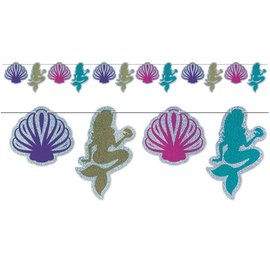 Banner - Mermaid & Seashell