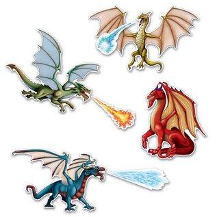 Cutouts - Dragon (7pk)
